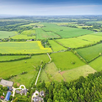 Aerial photo-Cotswolds Tours Photos